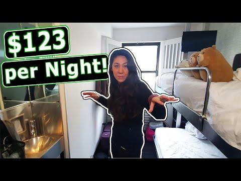New York City $123 Hotel Tour! (Manhattan)