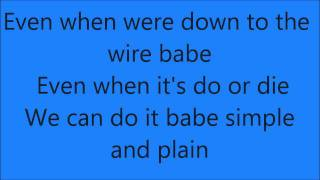 Repeat youtube video Miguel-Sure Thing (Lyrics)