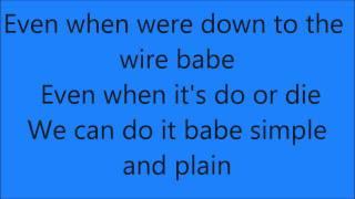 Miguel-Sure Thing (Lyrics)