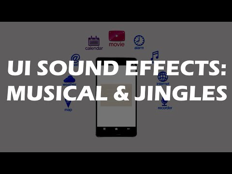 User Interface sounds - great musical and melodic UI sound effects Mp3