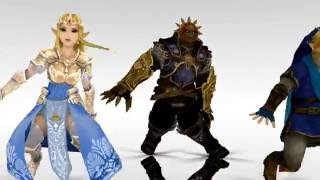 Download [LOZ MMD] Triforce Trio - Moves Like Jagger Mp3