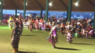 Women's Old Style Jingle Special, Kalispel Powwow 2017, Second Round, Song #1