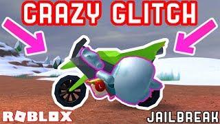 CRAZY MOTORCYCLE GLITCH! *SUPER SPEED* - Roblox Jailbreak Mythbusting #7