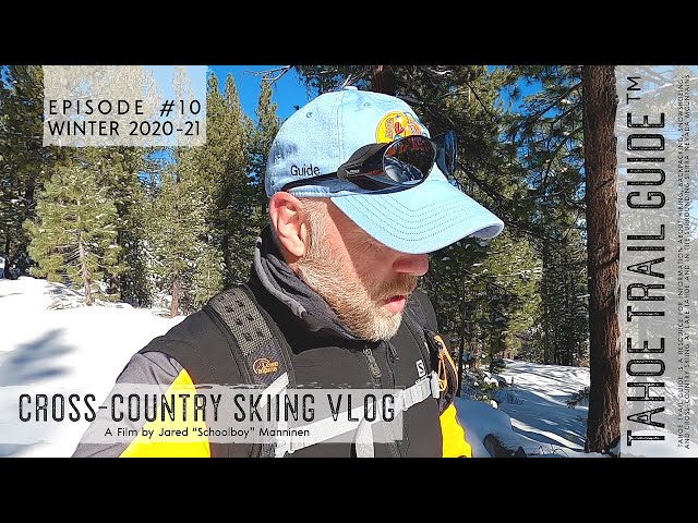 Outdoor VLOG 10: New Year's Eve (day) XC Ski Tour to Scott's Lake