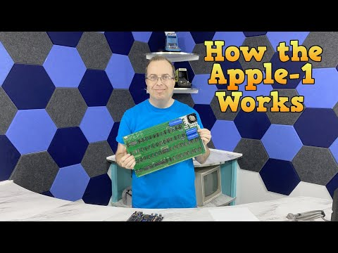How the Apple 1 computer works.