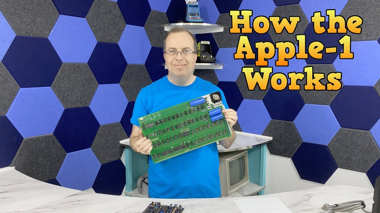 Download How the Apple 1 computer works.