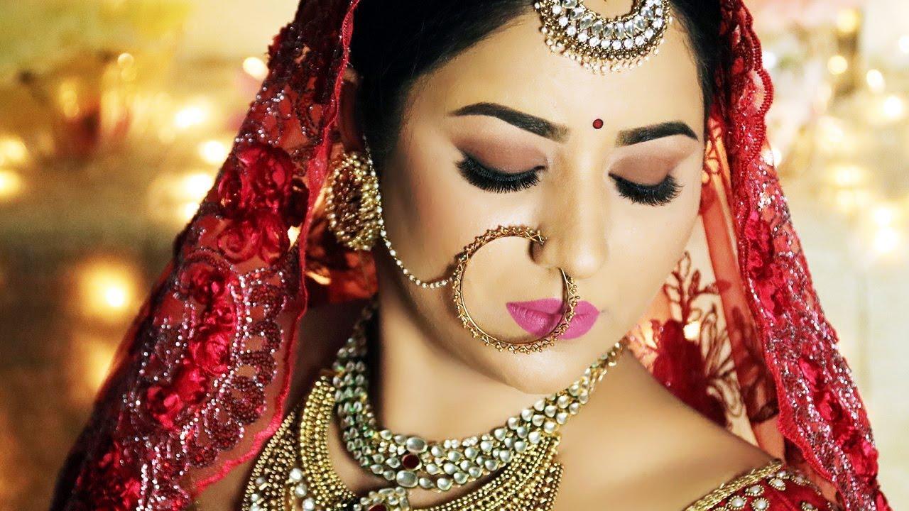 priyanka chopra royal wedding look   indian bridal makeup tutorial