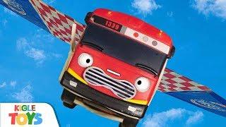 비행기가 된 버스!   장난감 경찰차 소방차 구급차 앰…