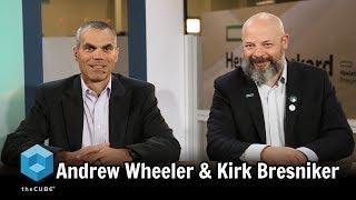 Andrew Wheeler & Kirk Bresniker | HPE Discover 2017
