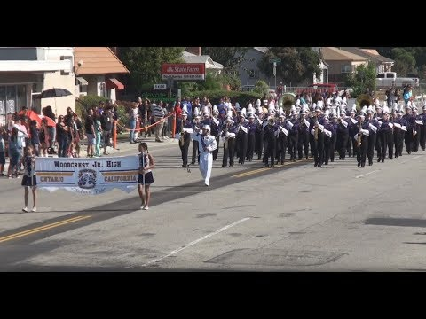 Woodcrest JHS - Let the Flag of Freedom Wave - 2017 Chino Band Review