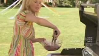 Sandra Lee - Grilled Raspberry Chicken