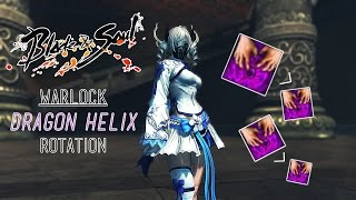[Blade and Soul NA] Warlock - Dragon Helix Rotation | With and Without Soul Badge
