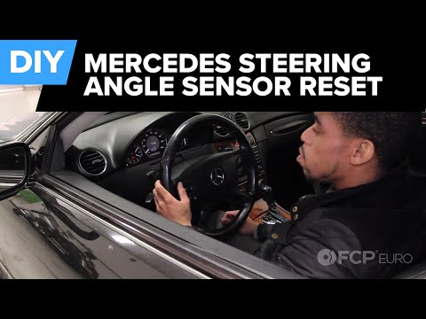 How to Reset the Steering Angle Sensor on any Mercedes (CLK550) | FCP Euro