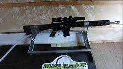 Av-Ase AR-15 Muzzle brake test 2