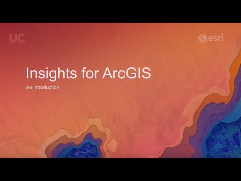Insights for ArcGIS: An Introduction