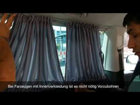 bremer sitzbez ge gardine montage anleitung youtube. Black Bedroom Furniture Sets. Home Design Ideas