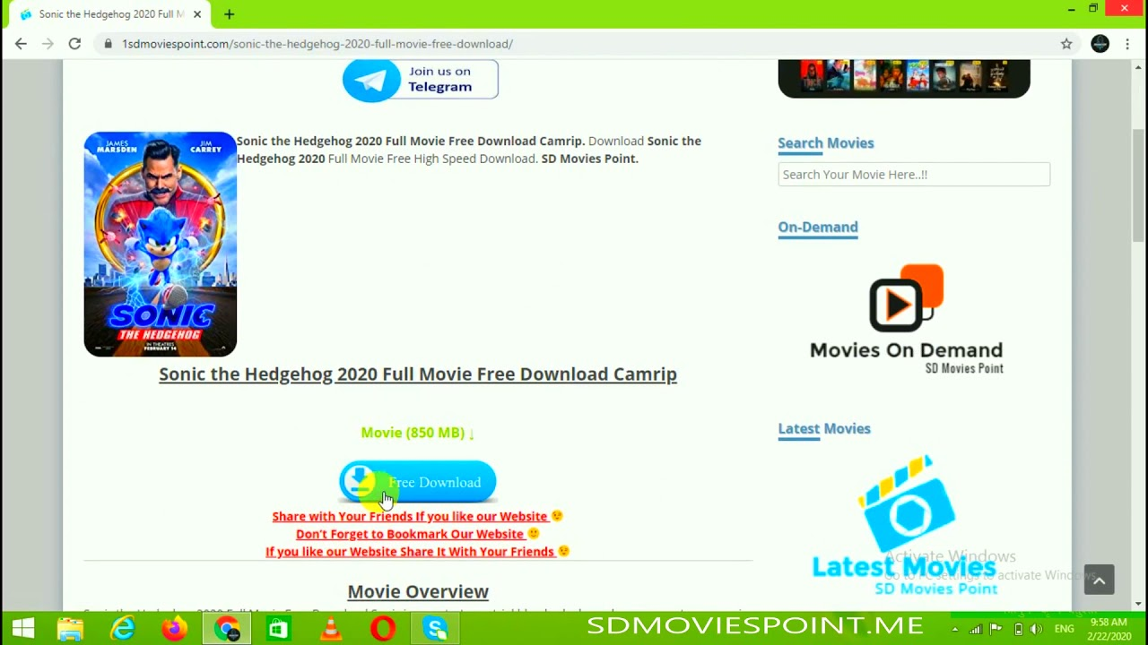 How To Download Sonic The Hedgehog In Hindi Hd Youtube
