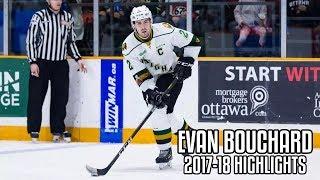 Evan Bouchard   2017-18 Highlights