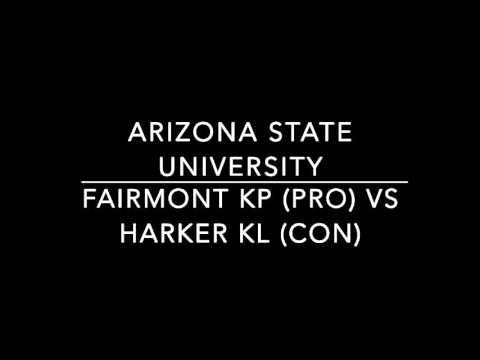 Fairmont KP vs Harker KL ASU Dubs
