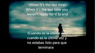 3 Doors Down - Goodbyes sub inglés español