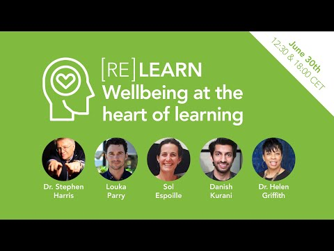 #RELEARN2020 Wellbeing at the Heart of Learning Session one
