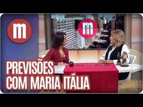 Mulheres - Previsões com Maria Itália (05/05/16)