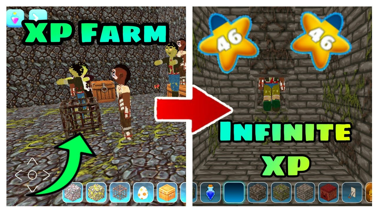 How to Make XP Farm in Realmcraft | Its RT