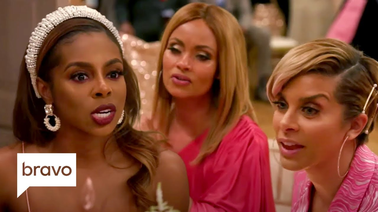 The Ladies Ask Candiace About Her Filing Charges Against Monique | RHOP Highlights (S5 Ep12)