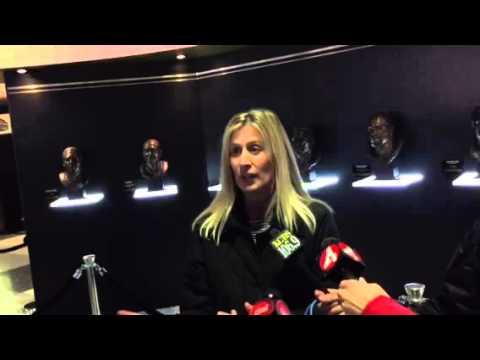 Mary Pat Augenthaler Talks NFL Experience History #SB50 - Zennie62