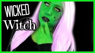 Wicked Witch Makeup Tutorial!!