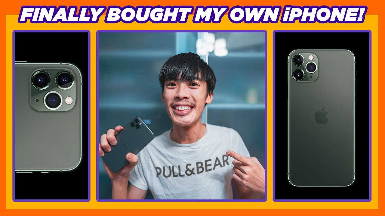 how i bought my iPHONE 11 PRO MAX with POCKET MONEY!