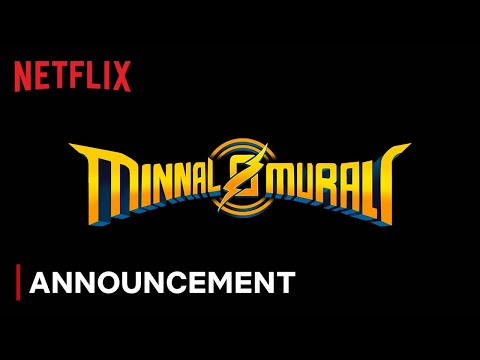 Minnal Murali | Official Announcement | Tovino Thomas | Basil Joseph | Sophia Paul | Netflix India