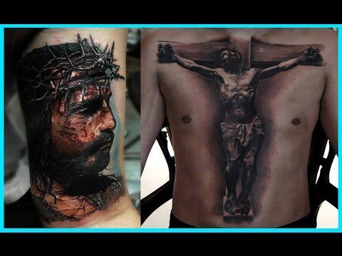 Los Mejores Tatuajes De Jesus Youtube