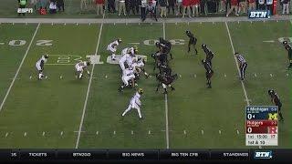 2016 Michigan vs Rutgers Playcut