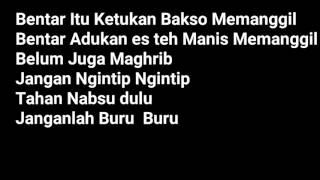 Gahtan Sakti - Maghrib Duluan Lyrics