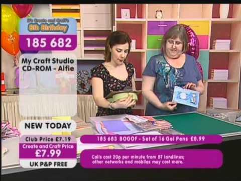 Create and Craft TV (Starring Linda Mitchell!) - YouTube