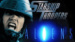 Film analysis: Was STARSHIP TROOPERS a parody of ALIENS?