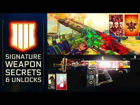 Black Ops 4: The Secrets of Signature Weapons and How To Unlock Them All