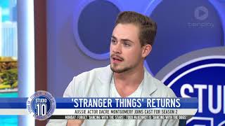 Dacre Montgomery Joins The Cast Of 'Stranger Things' | Studio 10