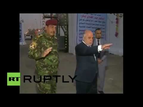 Iraq: PM al-Abadi welcomes citizens to the re-opened Green Zone