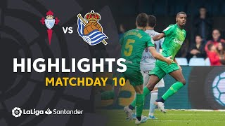 Highlights RC Celta vs Real Sociedad (0-1)