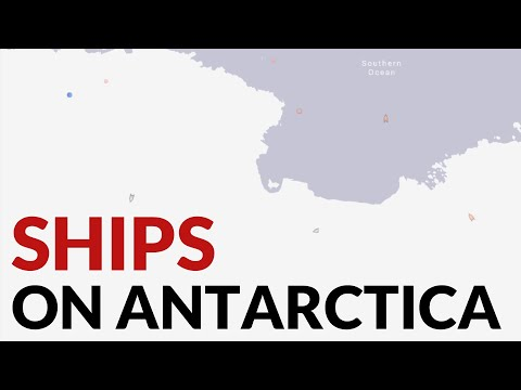 Flat Earth: Ships Sailing Through Antarctica, No Ice On Antarctica thumbnail