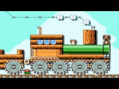 The Great Train Heist by Peer-IGN ~SUPER MARIO MAKER~ NO COMMENTARY