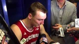 'this one is worse' -- sam dekker reacts to the badgers' loss