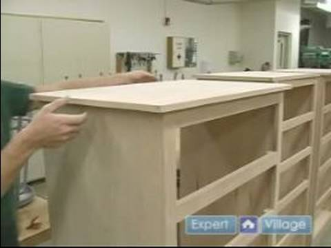 How To Build A Chest Of Drawers How To Attach The Finished Top Of Chest Of Drawers