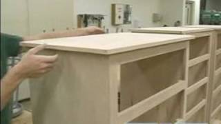 How To Build A Chest Of Drawers : How To Attach The Finished Top Of Chest Of Drawers