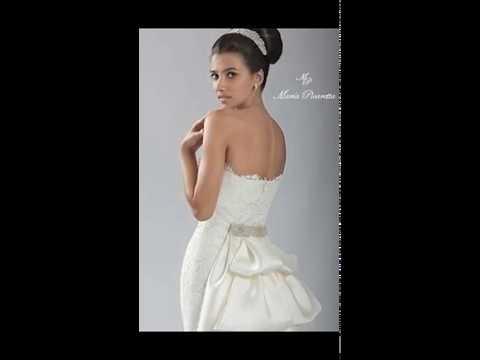 91b636194 Colección de vestidos de novia de María Picaretta - YouTube