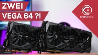 WIE SCHNELL SIND ZWEI AMD Vega 64 Grafikkarten?   5000 Euro Threadripper Projekt Teil 3