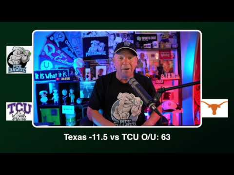 Texas vs TCU Free College Football Picks and Predictions CFB Tips Saturday 10/3/20