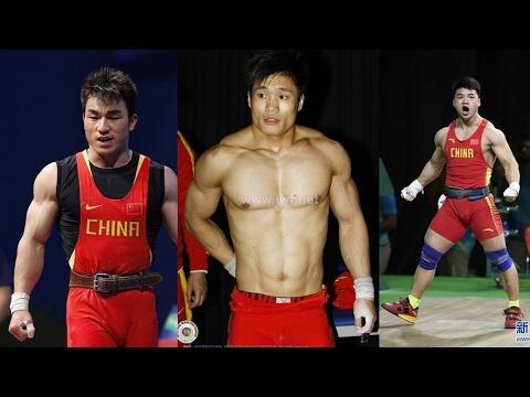 Lu Xiaojun, Tian Tao, Liao Hui - Olympic weightlifting